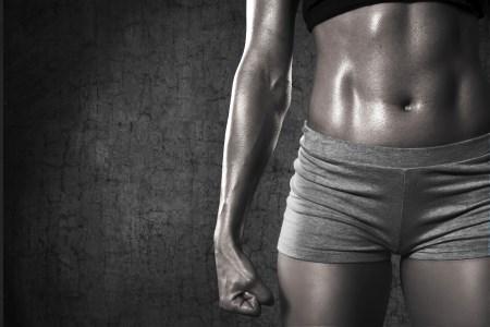 få starka magmuskler