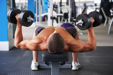 Träna med en träningsbänk